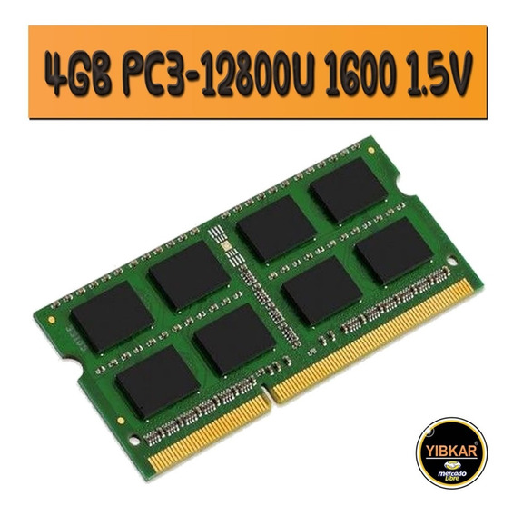 Memoria Ram Ddr3 4gb 1600 Mhz Pc3-12800 Para Laptop