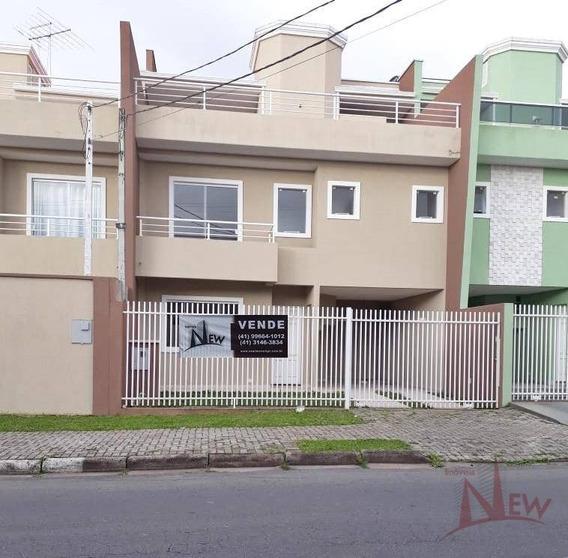 Sobrado Residencial À Venda, Afonso Pena, São José Dos Pinhais. - So0028