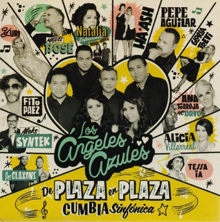 Los Angeles Azules Plaza En Plaza Cumbia Sinfonica Cd + Dvd