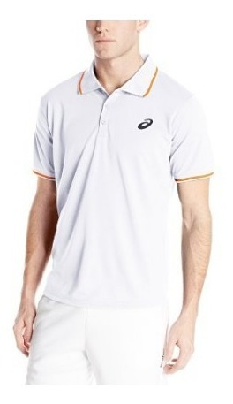 Camisa Playera De Tenis Asics Sleeve Polo V/ Colores