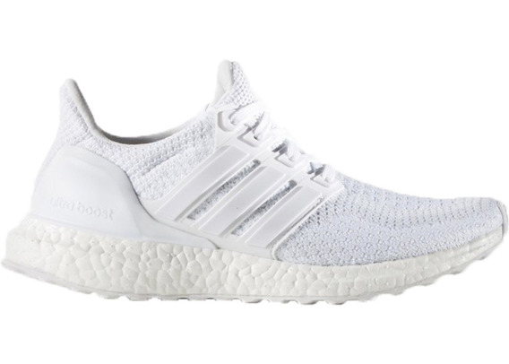 Tênis Corrida adidas Ultra Boost Branco Triple White