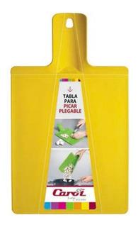 Tabla Picar Plástico Plegable Carol Varios Colores 6 Cuotas