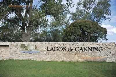 Lote En Venta : Canning : Lagos De Canning