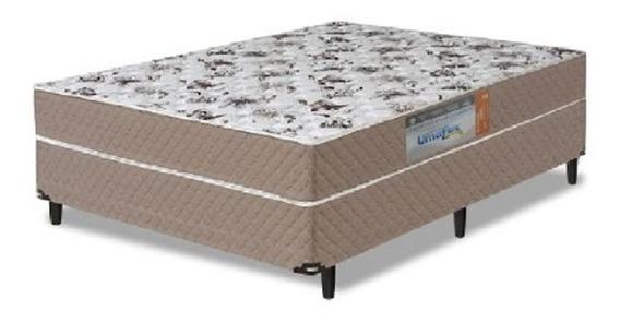 Cama Box Umaflex Granada Casal 1,38 Molas Ensacadas