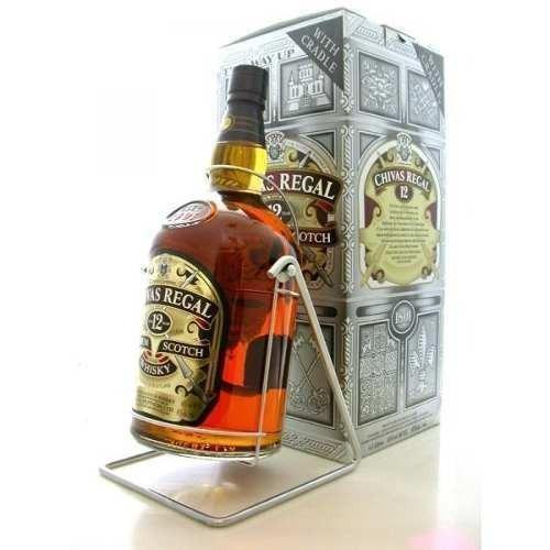 Whisky Chivas Regal 12 Años 4500 Cc Scotch /bbvinos