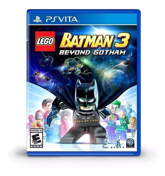 Lego Batman 3 Beyond Gotham - Ps Vita - Novo - Lacrado