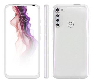 Smartphone Motorola One Fusion+ Tela 6.5` 128gb 4gb - Branco