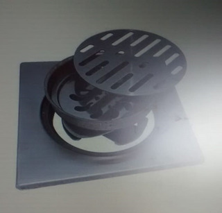 Resumidero Anti Olores De 20 Cm Zinc, Anbec