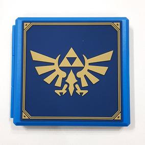 Case Game Card Hori Cartão Memoria Nintendo Switch Zelda B