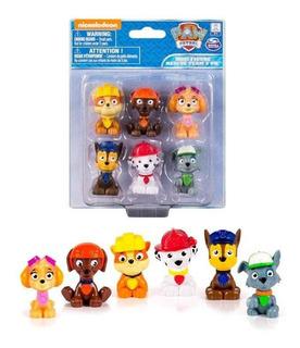 Pack 6 Mini Figuras Paw Patrol
