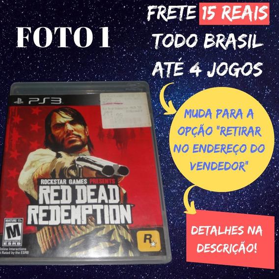 Jogo Red Dead Redemption Ps3 Frete 15 Reais