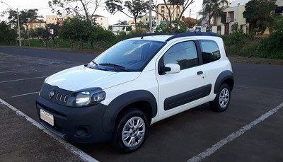 Fiat Uno Way 1.0 2011/2012 Flex 1.0 80mil Km