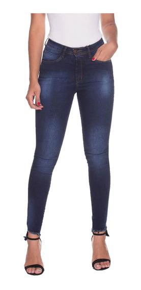 Calça Jeans Osmoze Mid Rise Skinny 23033 Un Azul