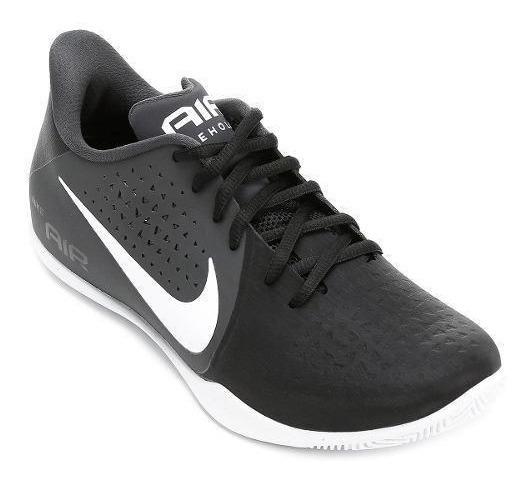Tenis Basquete Nike Air Behold Adulto Preto - Original