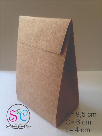 20 Caixas Para Docinhos/lembrança Papel Kraft 200g