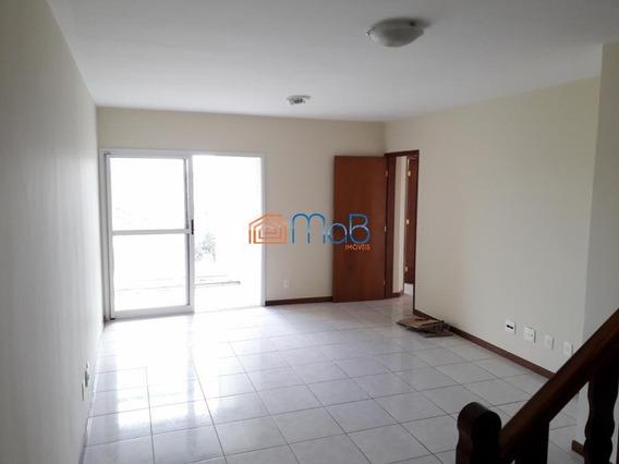 Excelente Cobertura Duplex De 04 Qtos, Sendo 02 Suítes Na Riviera - Cob003