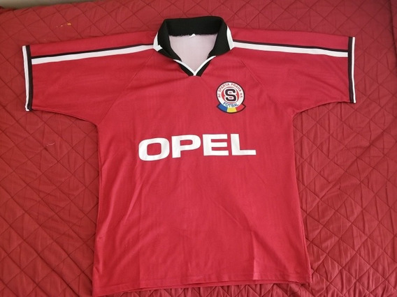 Camiseta Ac Sparta Praha 1998 Opel Praga República Checa