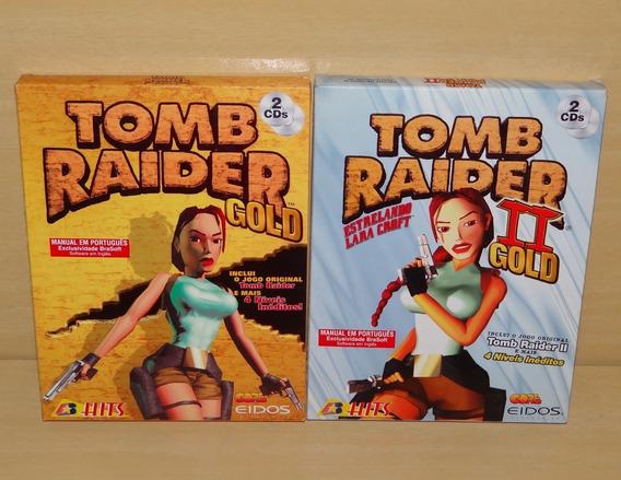 Tomb Raider Gold + Tomb Raider Ii 2 Gold - Pc