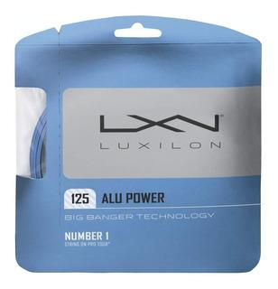 Cuerda Luxilon Alu Power Para Raqueta De Ténis Alta Gama