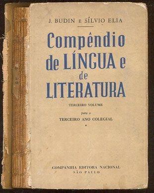 Compêndio De Língua E De Literatura 3º Volume - J. Budin