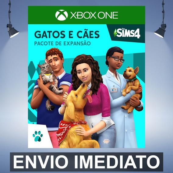 The Sims 4 Cães E Gatos Xbox One Código 25 Dígitos