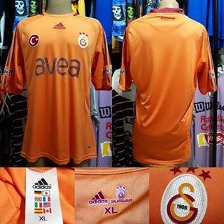 Camisa Galatasaray- adidas- Xl - 2008/2009- S/n°- Away