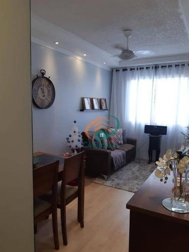 Imagem 1 de 23 de Apartamento Com 2 Dormitórios À Venda, 48 M² Por R$ 250.000,00 - Vila Talarico - São Paulo/sp - Ap1350