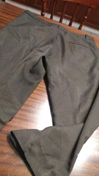 Pantalon De Hombre Sarga Tl Verdoso/y Otro (con Detalles)