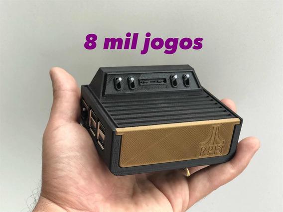 Atari Com 8 Mil Jogos. +ps1 + Snes + Mega + Mame.