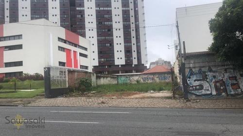 Terreno A Venda No Bairro Portão Em Curitiba - Pr.  - 5724-1
