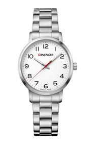 Relógio Suíço Feminino Wenger Avenue 35mm Aço By Victorinox