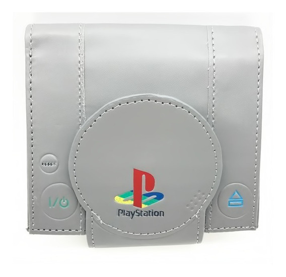 Cartera Playstation Sony Play Station Ps Hombre Gamer