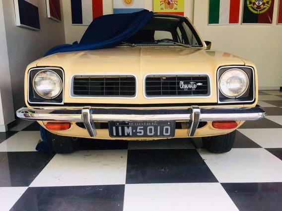Chevette Standart 4 Portas Placa Preta Raridade Lindo