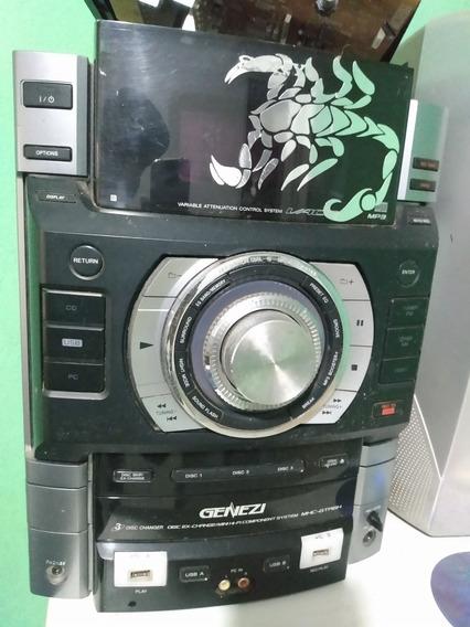 Aparelho De Som Sony Genezimhc-gtr6h Defeito Placa Amplifica
