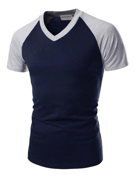 Camiseta Masculina Raglan Luxo Noblemen
