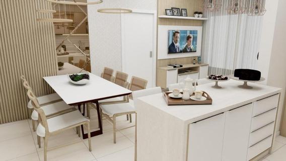 Apartamento Em Roçado, São José/sc De 82m² 3 Quartos À Venda Por R$ 583.000,00 - Ap393056