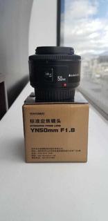 Lente Yongnuo 50mm Af F1.8 Para Canon