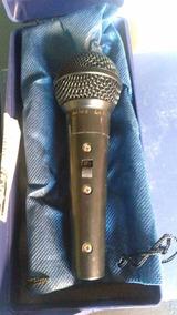 Microfone Leson Sm 58 Blc