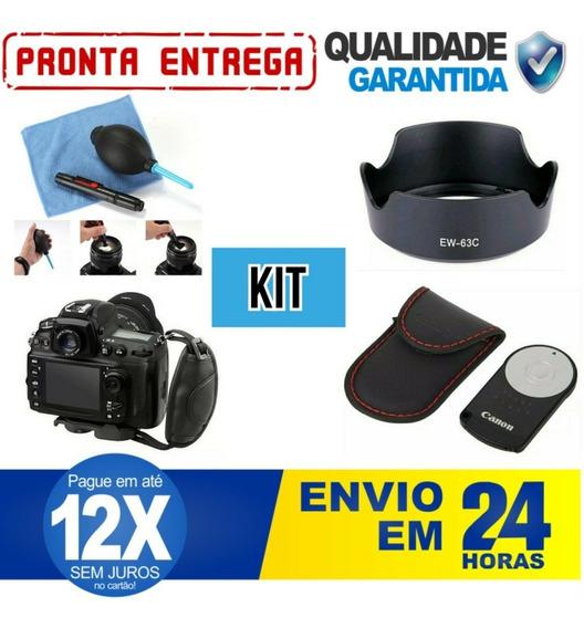 Kit Cânon Caneta + Rc6/capa + Alça Hand + Parasol Ew-63