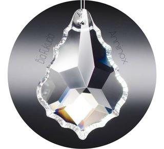 1 Cristal Asfour Placa Bacalhau 5,0 Cm Para Lustres