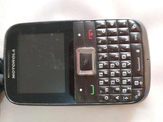 Celular Motorola Ex 108 Com Carregador Funcional