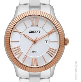 Relógio Orient Feminino Ftss1108 S3sx Prateado Original + Nf