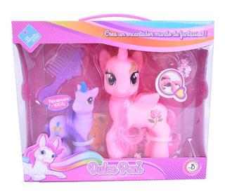 Pony Muñeco Mi Dulce Poni X 2 El Duende Azul 6202