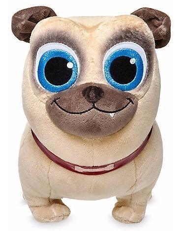 Imagem 1 de 5 de Pelúcia Disney Store Rolly Puppy Dog Pals Cachorro Buldogue
