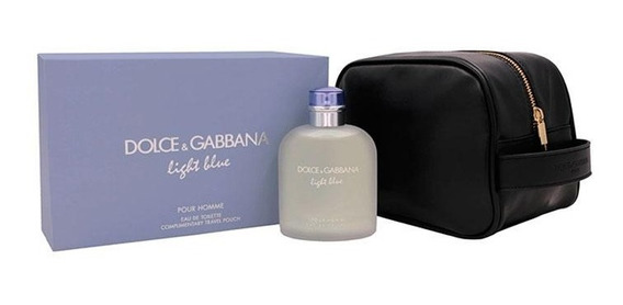 Kit Dolce & Gabbana Light Blue Pour Homme 200ml (2peças)