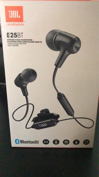 Fone De Ouvido Bluetooth Jbl E25bt Usado