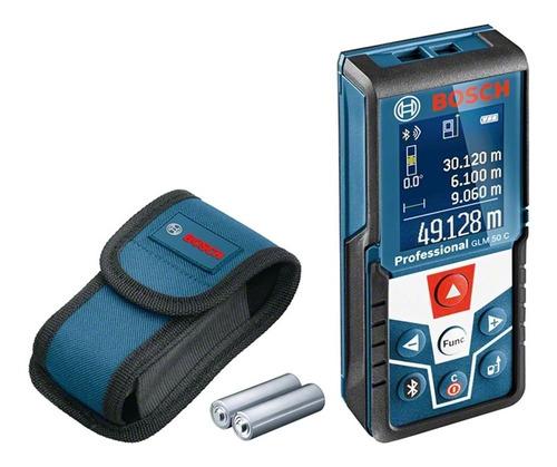 Imagem 1 de 6 de Trena A Laser 50m Glm 50c Bosch Com Função Bluetooth 0601072c00-000