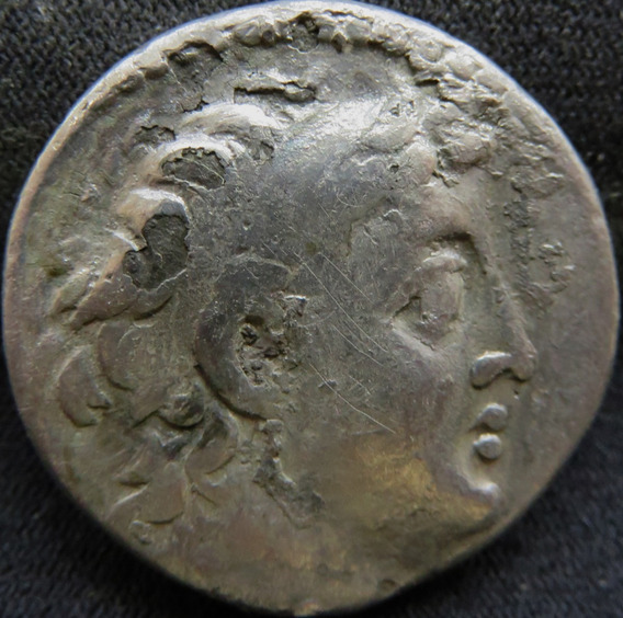 Tetradracma Grego De Prata De Demétrius I I