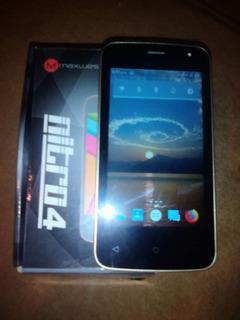 Celular Marca : Maxwest Modelo: Nitro 4 Como Nuevo