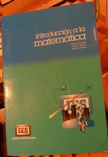 Libro Introducción A La Matemática Bondio-marín-mase Ies